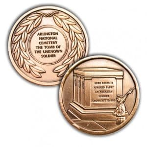 Tomb of the Unkown Soldier Challenge Coin