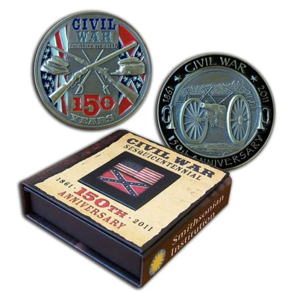 Civil War Sesquicentennial Challenge Coin