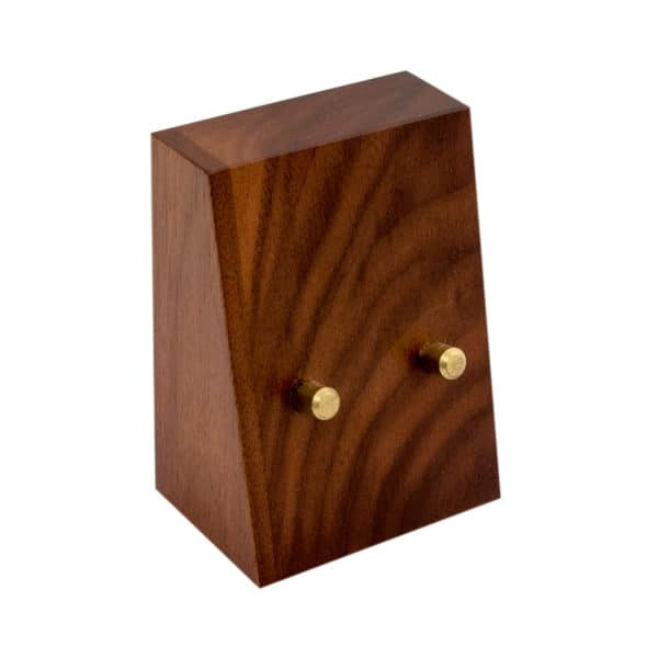 Wooden Coin Stand No Coin No Plate