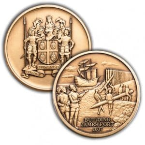 James Fort Challenge Coin