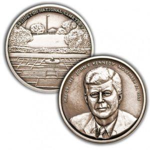 JFK Memorial Challenge Coin