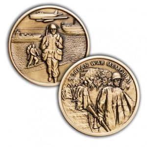 Challenge Coin for Korean War