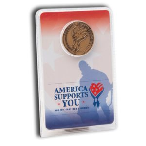 America Supports You Coin