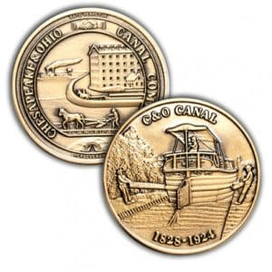 C and O Canal Coin