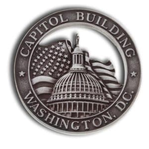 Capitol Building lapel pin