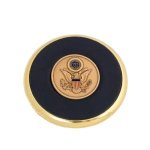 Coaster Great Seal Coin