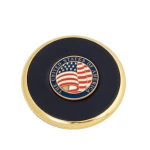 Coaster USA Flag Coin
