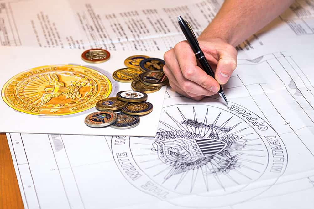 Custom Challenge Coins C. Forbes Inc
