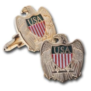 Eagle Brass Cuff Link