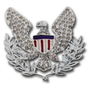 Eagle-Brooch-Silver