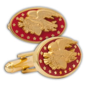 Eagle Cuff Link Red