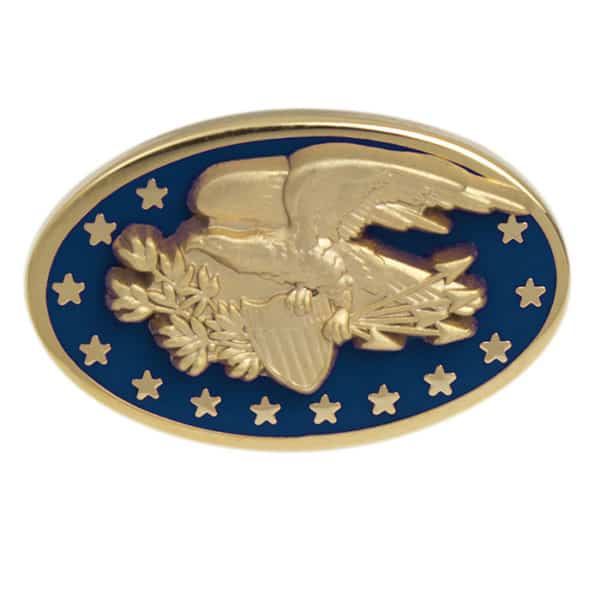 Americana Eagle Blue Cuff Link