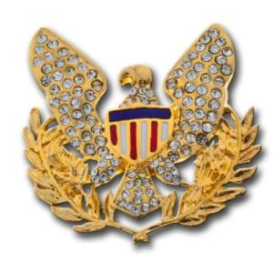 Gold Eagle brooch