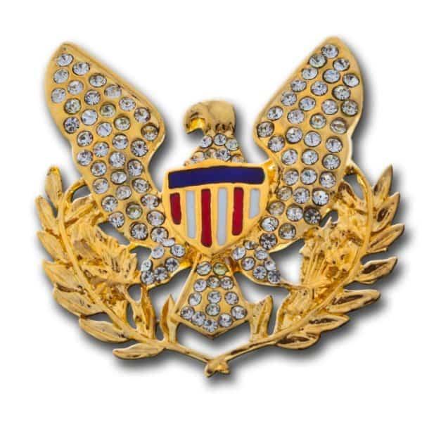 Gold Eagle brooch