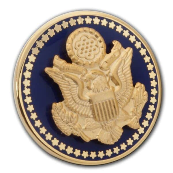 Great Seal Blue Cuff Link