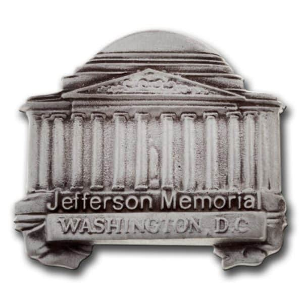 Thomas Jefferson memorial lapel pin