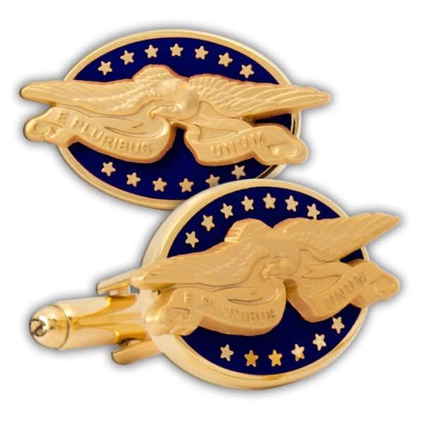 Patriotic-Eagle-Cuff-Link-Blue