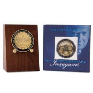 Trump Coin Set Wood