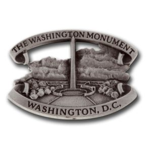 Washington Monument Lapel pin