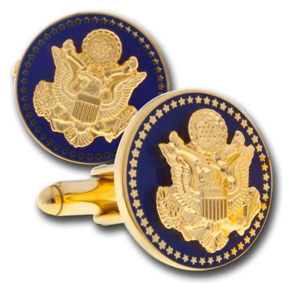 Navy Great Seal Cuff Links