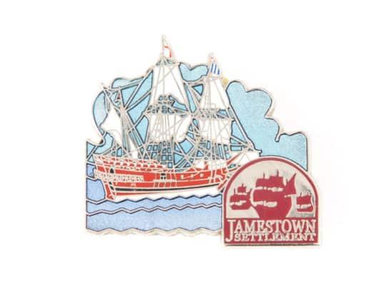 Jamestown Sail Ship Lapel Pin