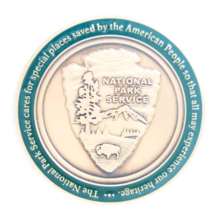 National Park Service Mammoth Cave Challenge Coin Back – C  Forbes, Inc