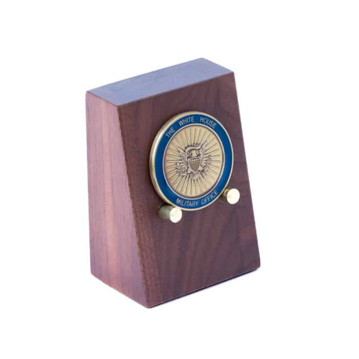 Wooden Challenge Coin Display – C  Forbes, Inc