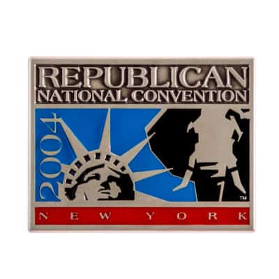 2004 Republican National Convention Lapel Pin