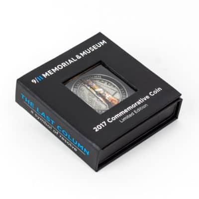 911 Last Column 2017 Challenge Coin Presentation Box