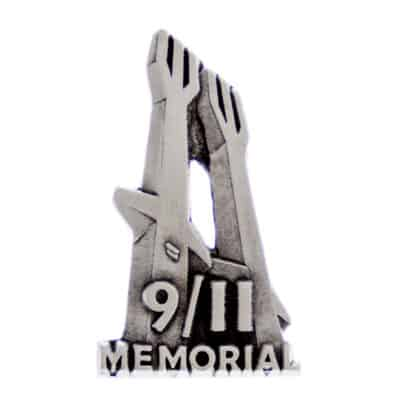 911 Memorial Museum Trident Lapel Pin