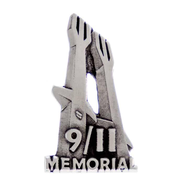 911 Memorial Museum Trident Lapel Pin