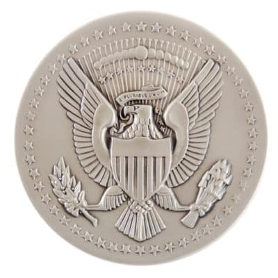 Airlift Operations White House Medallion Back