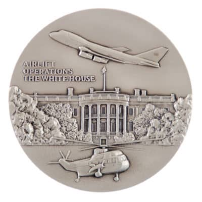 Airlift Operations White House Medallion Front