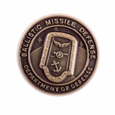 Ballistic Missile Defense Lapel Pin