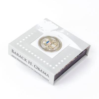 Barack Obama Challenge Coin Presentation Box