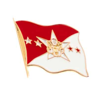 Chief of the Staff of the Army Flag Lapel Pin