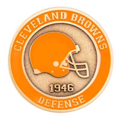 Cleveland Browns Challenge Coin Front