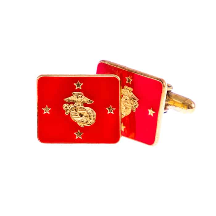 Commandant of the Marine Corps Flag Cufflinks