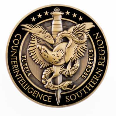 Defense Security Service Challenge Coin Front