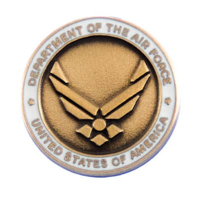 Department of the Air Force Lapel Pin