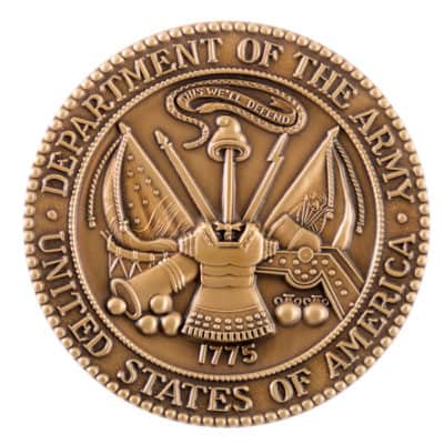 Department of the Army Medallion