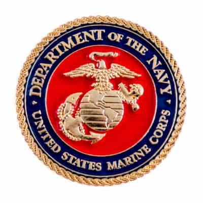 Department of the Navy Marine Corps Lapel Pin