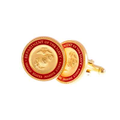 Department of the Navy United States Marine Corps Cufflinks