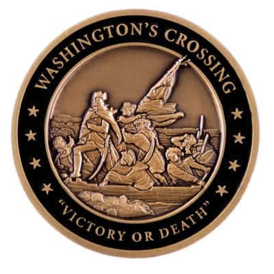 First Region AUSA Challenge Coin Back