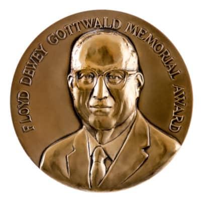 Floyd Dewey Gottwald Memorial Award Medallion Front