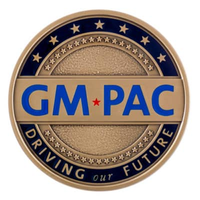 GM PAC Medallion