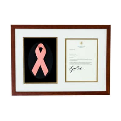 George Bush Letter to Cancer Patient