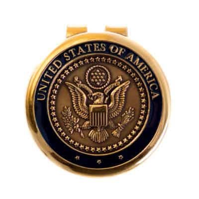 Great Seal of America Money Clip