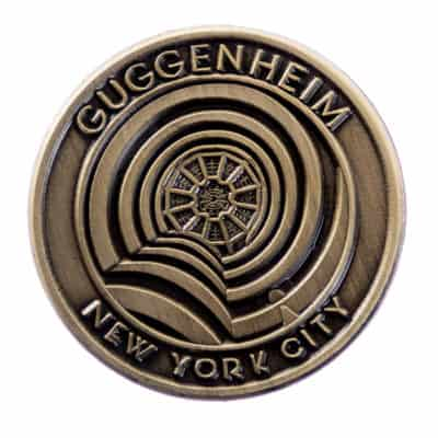 Guggenheim Museum New York City Lapel Pin