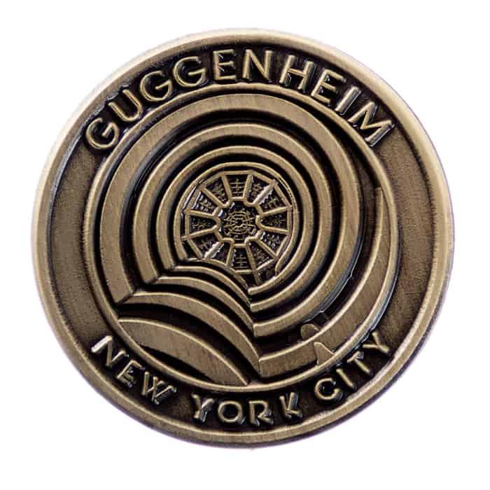 Guggenheim Museum New York City Lapel Pin